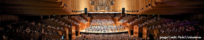 Catch an Evening Show at the Sydney Opera House